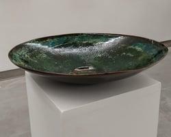 Andreucetti Copper Bowl Rua Red Gallery