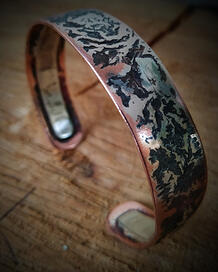 Andreucetti Jewellery Bracelet Copper and Silver 2