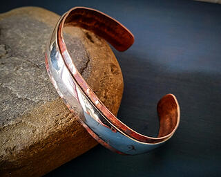 Andreucetti Jewellery Bracelet Copper and Silver 3_
