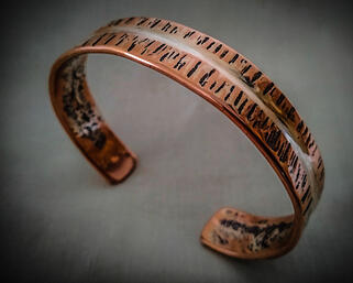 Andreucetti Jewellery Bracelet Copper and Silver 5