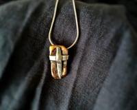 Andreucetti Jewellery Copper and Silver Pendant 4