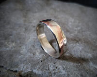 Andreucetti Silver and Copper Ring 1 (1)